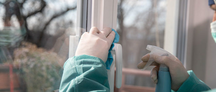 Home Cleaning and Disinfection During the Coronavirus Pandemic